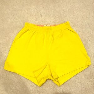 Yellow Soffe Shorts 💛